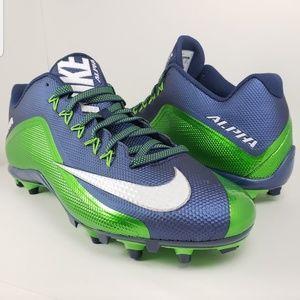 New Nike Alpha Pro 2 TD Football Cleats sz 14